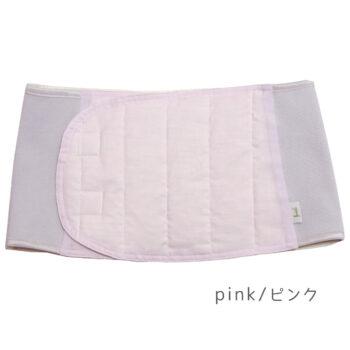羽毛のエシカル腹巻き:ピンク